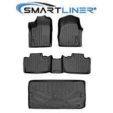 Smartliner Floor Mats And Cargo Liner Behind 3rd Row Black For 13-16 Durango