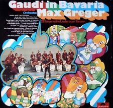 Zwei Vinyl Schallplatten Lp`s MAX GREGER und Orchester Unterhaltung Stimmung