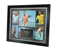 Nick Kyrgios Signed Photo Framed Memorabilia Limited Edition + COA