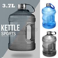 3.7L Big Large BPA Free Sport Gym Training Drink Water Bottle Kettle  //#
