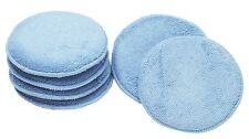 Car Waxing Polish Foam Sponge Wax Applicator Cleaning Detail Pads Blue 6PCS/set