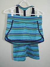 NWT Small * ATHLETA * 2-Piece Tulum T-Back Tankini Swimsuit & Kata Swim Skirt
