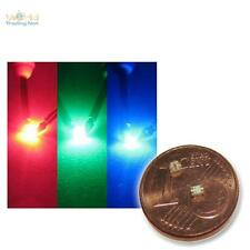 20 RGB SMD LEDs Tipo 0805 3 chips rojo verde azul CONTROLABLE