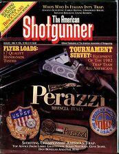 The American Shotgunner Magazine August 1982 Flyer Loads VG No ML 050917nonjhe