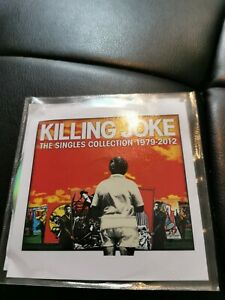 Killing Joke The Singles Collection 1979-2012 2 Disk Promo CDs