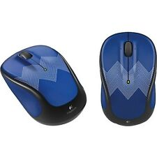 Logitech Optical Mouse Wireless M317C Blue ZigZag