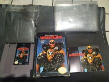 WCW World Championship Wrestling (Nintendo Entertainment System, 1990) Game nes