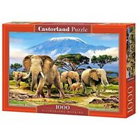 Kilimanjaro Morning - 1000 Pieces - Castorland Jigsaw Csc103188pc Puzzle