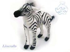 Mini Zebra Plush soft toy by Hansa. 3743