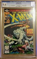 X-Men #140 CGC 9.4 White Pages Wolverine Byrne Cover & Art Marvel Comics 1980