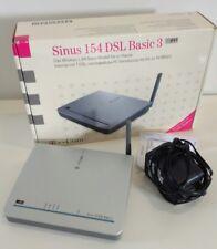 T-Com Sinus 154 DSL Basic 3 54 Mbps 1-Port 100 Mbps Verkabelt Router