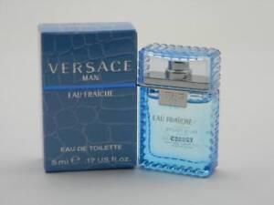 Versace Pour Homme Eau Fraiche EDT 5ml / 0.17 fl oz Mini Splash New In Box
