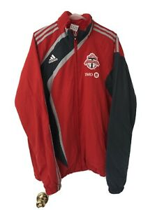 2007 2008 Toronto FC Track Jacket Soccer MLS USA Canada Jersey Kit Warmup Large