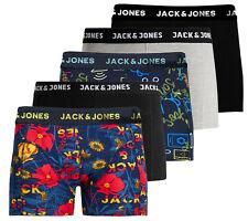 JACK & JONES Boxershorts Mehrfarbig Theodor Anthony Trunks 5er Spar Pack
