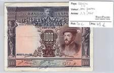 BILLET ESPAGNE - 1000 PESETAS 1-7-1925