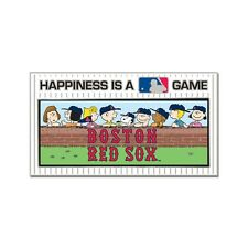 BOSTON RED SOX PEANUTS GANG HAPPINESS IS A GAME COLLECTOR PIN BRAND NEW WINCRAFT