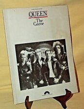 Queen Game Piano Vocal Chords Sheet Music Columbia 1980 Po33Smx Freddie Mercury*