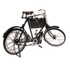 1/10 Skala Metall Fahrrad Modell Klassisch Schwarz Fahrrad Cool Boy