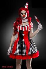 SEXY halloween costume HORROR CLOWN S L (40 42 44) completo 7bff57635c95
