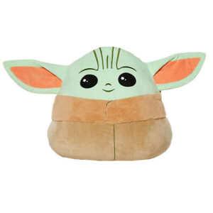 "Star Wars Mandalorian Baby Yoda 20"" Plush Squishmallow Plush SHIPS ASAP!"
