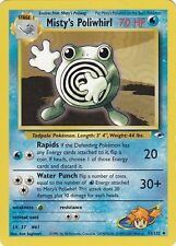 POKEMON, Misty's Poliwhirl (Quaputzi), Gym Challenge, 53/132, English