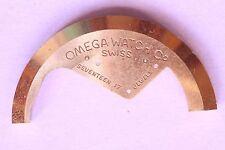 Omega 350 part 1017 Masse oscillante Oscillating weight Schwingmasse NOS