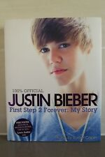 *NEW* JUSTIN BIEBER First Step 2 Forever: My Story AUTOBIOGRAPHY