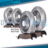 2007 2008 2009 Ford Edge MKX AWD Front Rear DRILLED Brake Rotors + Ceramic Pads