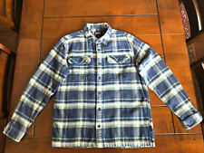 Patagonia Fjord Flannel Shirt Men's Medium