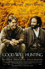 Good Will Hunting • 1-Sheet Movie Poster Ds • Damon • Affleck • Williams • 1997