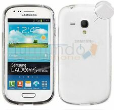 FUNDA GEL FINA ULTRA-THIN 0,3mm TRANSPARENTE SAMSUNG GALAXY S3 MINI i8190 i8200