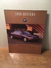 1996 Buick Riviera Car Sales Brochure Catalog