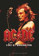 "AC/DC FLAGGE / FAHNE ""LIVE AT DONINGTON"" POSTER FLAG POSTERFLAG"