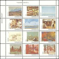 Canada #966a MNH VF mini sheet of 12