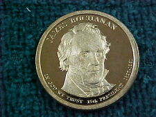 51 - 2010 S JAMES BUCHANAN PRESIDENTIAL DOLLARS  PROOF ---LOT-----
