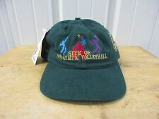 VINTAGE 1996 ATLANTA OLYMPIC GAMES VOLLEYBALL SNAPBACK SEWN HAT/CAP DS NWT