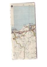 carte routiere 85 de 1943 - bon etat mais sans couverture