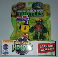Teenage Mutant Ninja Turtles Half-shell Heroes Raph Jackhammer Raphael Figure