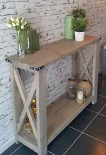 NEW HANDMADE Hall Table Rustic Hamptons Style Console Sideboard by Savoy Truffle