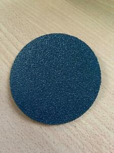 Blue line metal grinding discs siafast hook and loop 115mm 36 grit x 3 discs