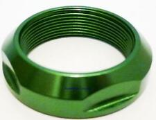 Scooter Headset Fork Alloy Lock Nut Locking Ring GREEN