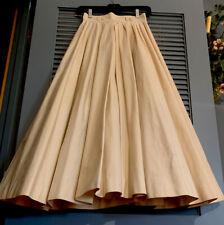 Vintage Dior Full Beige/ Tan Skirt ... AMAZING!  Size XS