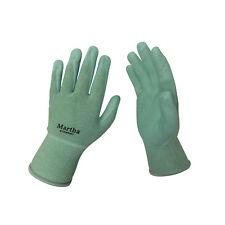 Martha Stewart Garden Gloves Three Pair Pack   Abrasion-Resistant   Large   Mint