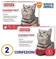 Beaphar FIPROtec Spot On gatti 3 Fiale antiparassitario Gatto