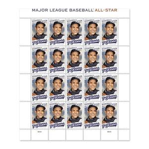 Yogi Berra MLB ALL-STAR Stamps Sheet of 20