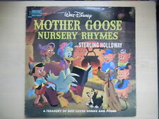 Disneyland Records Walt Disney MOTHER GOOSE NURSERY RHYMES  LP 1964