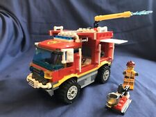Lego City 4208 Fire Truck Lorry Town Engine Minifigures