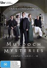 Murdoch Mysteries Series : COMPLETE Season 1-10 (DVD, 45-Disc Set) NEW