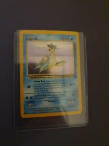 Lapras 10/62 - WOTC Fossil Set - Holo Rare Pokemon Card