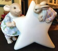 Rabbit Night Light - Liz Shepherd Rabbit Baby Room Nursery Vintage Terragraphics